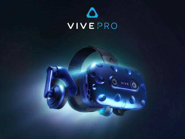 업그레이드된 가상현실 헤드셋, HTC VIVE Pro 발표