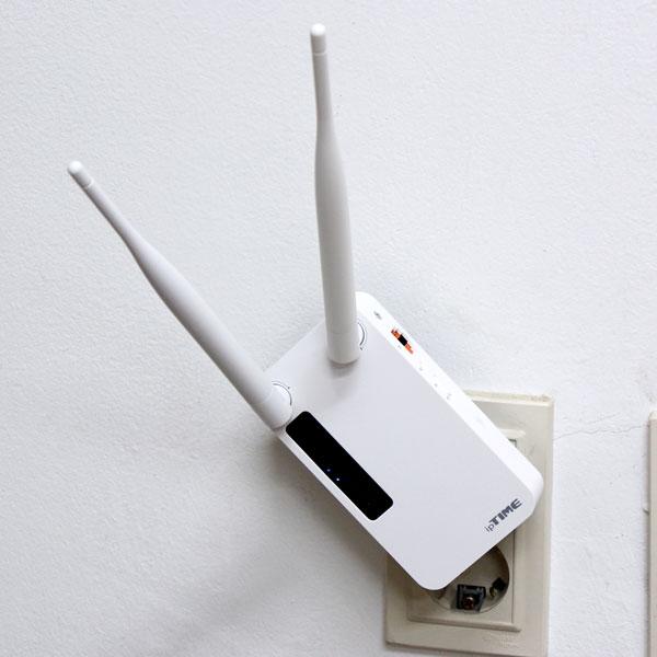 간단하게 쾌적한 와이파이 확장 가능, ipTIME Extender-A1