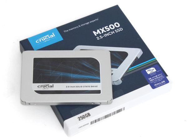 SSD 250GB 정도는 써줘야지?, 크루셜 MX500 250GB 아스크텍
