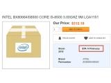 인텔 코어 i5 8500등 추가 8세대 CPU 2월 14일 출시?