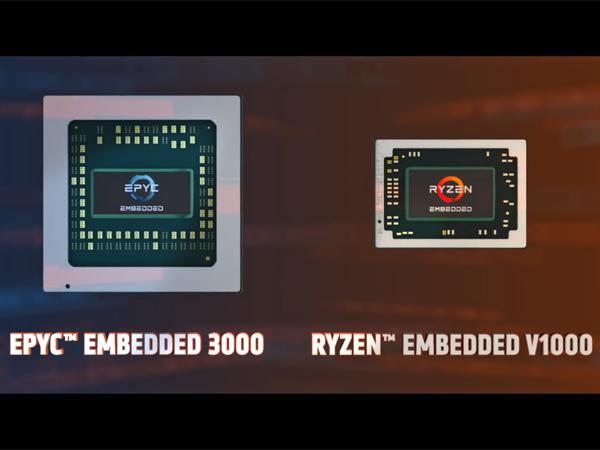 Zen 기반 고성능 임베디드 프로세서, AMD EPYC/Ryzen 임베디드 발표