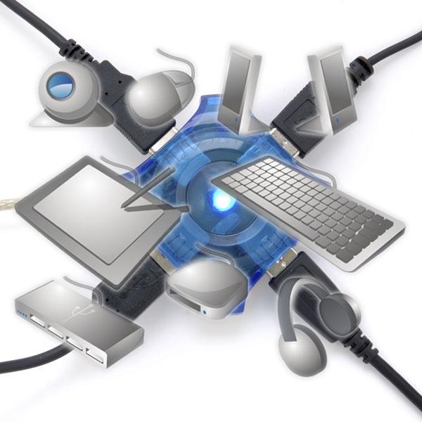 나날이 작아지는 고사양 PC의 필수품, USB 허브 제대로 활용하기