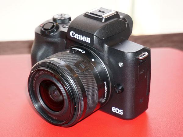 4K 동영상 지원 미러리스 카메라, 캐논 EOS M50 발표