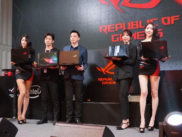 인텔 8세대 커피레이크 탑재, ASUS 게이밍 노트북 신제품 5종 출시