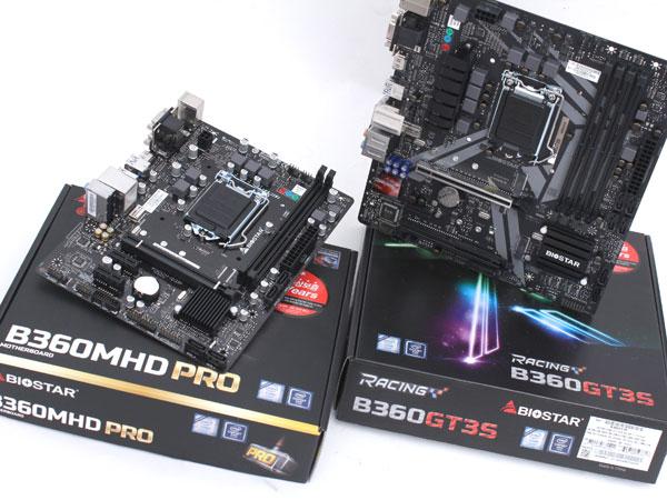 바이오스타의 B360 메인보드 제안,B360MHD PRO/ 레이싱 B360 GT3S