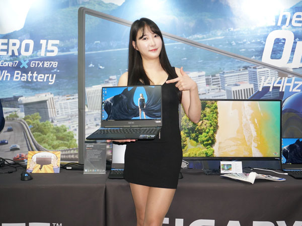 인텔 8세대 코어로 업그레이드, 기가바이트 2세대 AERO 15 노트북 국내 발표
