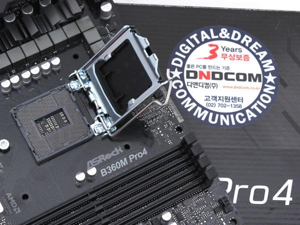 H370 같은 B360 칩셋 메인보드,ASRock B360M Pro4 디앤디컴