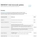 마이크로소프트, 윈도우 10 버전 1803용 인텔 스펙터 패치 업데이트