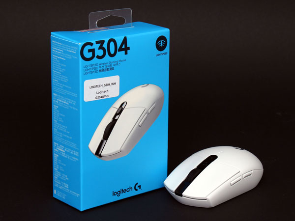 HERO 센서와 LIGHTSPEED 무선 기술, 로지텍 G304 무선 게이밍 마우스