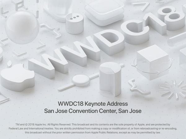 iOS 12/ macOS 모하비/ watchOS 5/ tvOS 12, 애플 WWDC 2018