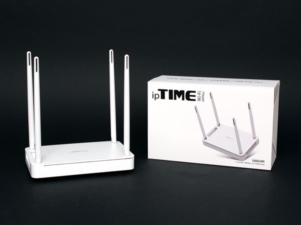 최고 600Mbps 지원하는 802.11n 공유기, ipTIME N804R