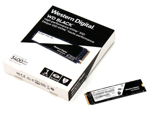 진정한 고성능 블랙 SSD로 귀환, WD Black 3D NVMe SSD 1TB