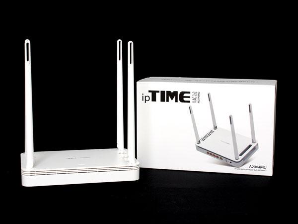 듀얼밴드와 MU-MIMO 지원하는 실속형 공유기, ipTIME A2004MU