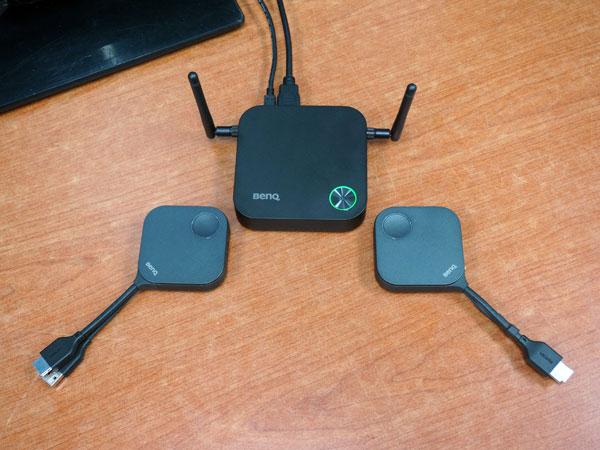 무선 HDMI 연결로 프리젠테이션 효율 증대, 벤큐 인스타쇼(InstaShow) WDC10