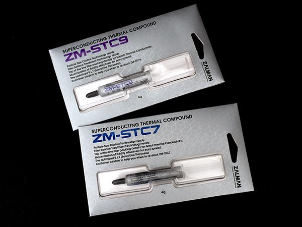 CPU 쿨러 성능 올리는 서멀 컴파운드, 잘만 ZM-STC7/STC9