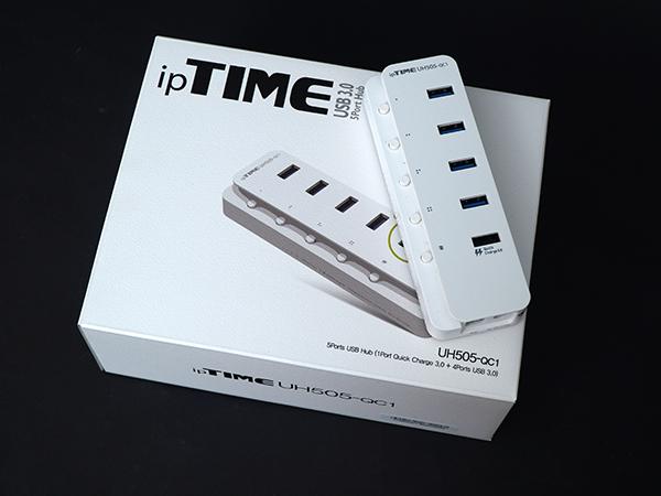 퀵차지 3.0을 품고 돌아온 유전원 USB 허브, ipTIME UH505-QC1