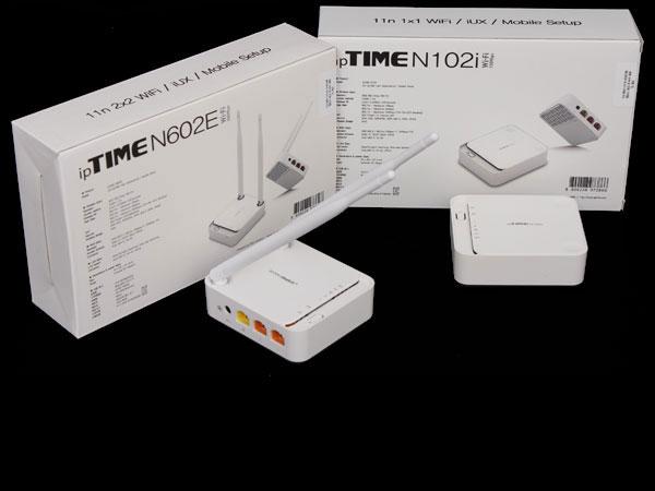콤팩트한 디자인에 가성비를 갖춘 공유기, ipTIME N102i와 N602E