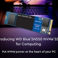 PCIe 및 읽기 속도 향상, WD Blue SN550 NVMe M.2 SSD 출시