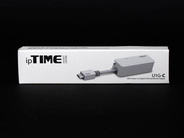 USB-C 사용하는 기가비트 랜 어댑터, ipTIME U1G-C