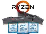 AMD와 인텔 시스템 성능 비교, 메모리 세팅이 고민되는 이유는?