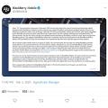 블랙베리 스마트폰 출시 8월 종료, TCL 블랙베리 라이센스 포기