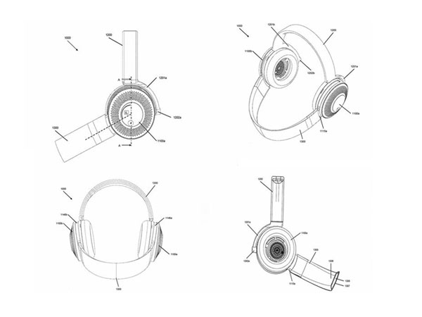 다이슨, 웨어러블 공기청정기 헤드폰 특허 출허