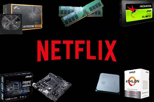 넷플릭스에 유튜브 감상까지, AMD 애슬론 3000G로 살펴보는 저가 PC