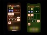 아이폰11, iOS 13.4.1 업데이트 이후 디스플레이 녹색 강조 오류 발생
