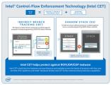 인텔 타이거 레이크 HW 보안기능 CET 발표