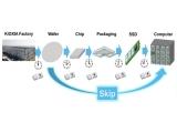 키옥시아, 웨이퍼 단계의 SSD 개발 계획