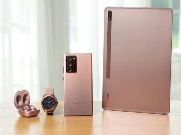 갤럭시 노트20과 다양한 신제품 공개, 삼성 갤럭시 언팩 2020