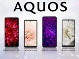 샤프, 일본 시장에 AQUOS 시리즈 스마트폰 4종 출시 발표