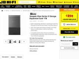 Xbox 시리즈 X 전용 씨게이트 1TB 카드는 본체 가격 절반 수준?