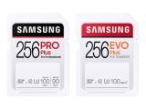 삼성전자, 영상 촬영 특화된 Pro Plus 및 EVO Plus SD 메모리 카드 출시