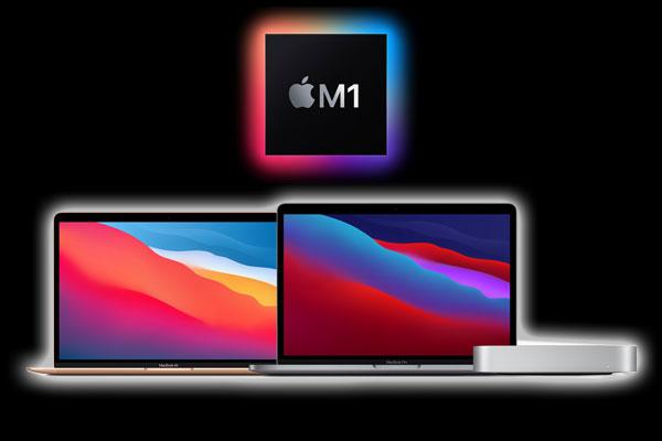 애플 맥북 에어   13형 맥북 프로   맥 미니 발표, 애플 M1 칩 탑재한 Mac 시동