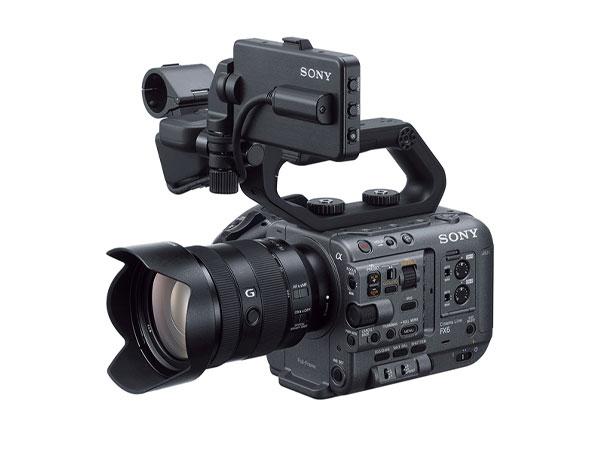소니, 풀프레임 초경량 시네마 라인 카메라 FX6 발표
