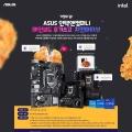 인텍앤컴퍼니, 11세대 인텔 ASUS 메인보드 후기 작성 이벤트 진행