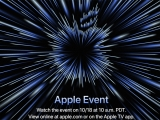 애플 10월 18일 신제품 행사 개최, M1X 탑재 MacBook Pro 발표하나