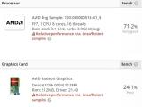 AMD 램브란트 APU 포착, DDR5 메모리에 최대 4.1GHz