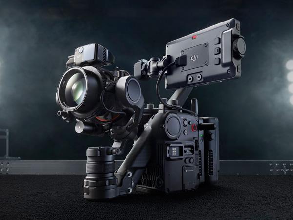 4축 짐벌 일체형 풀프레임 시네마 카메라, DJI Ronin 4D 발표