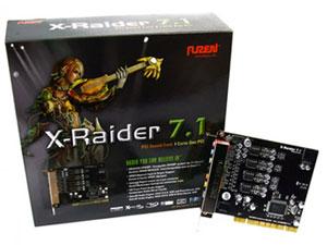 Auzentech auzen x-raider 7.1 audio