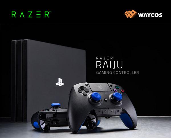 웨이코스 플레이스테이션 게임 컨트롤러 레이저 라이주 출시 케이벤치