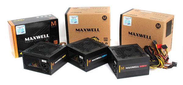 맥스엘리트,맥스웰(MAXWELL) 시리즈 파워 서플라이 출시 - 케이벤치