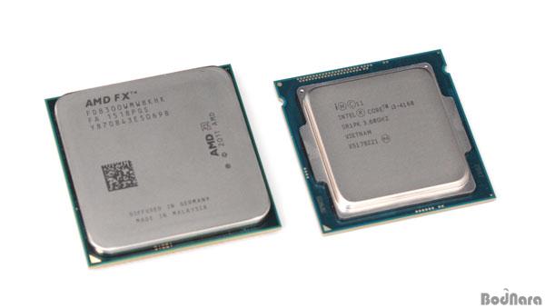 이번 벤치마크 기사의 메인 제품은 AMD의 FX 8300과 인텔 코어 i3 4160 두 가지 모델로, AMD FX 8300은 옥타코어,  인텔 코어 i3 4160은 듀얼 코어 기반에 하이퍼쓰레딩 ...