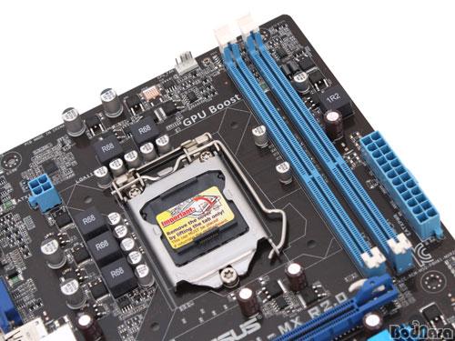 PCIe 3 0과 고클럭 메모리 지원 보급형 H61 메인보드, ASUS