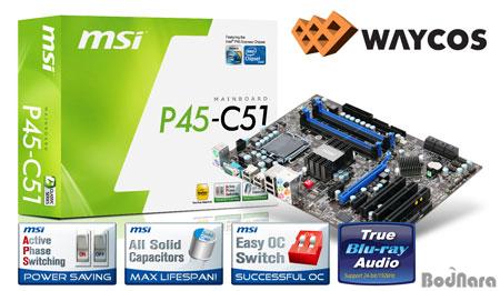 M-Flash 기능의 MSI P45 메인보드 2종 출시:: 보드나라