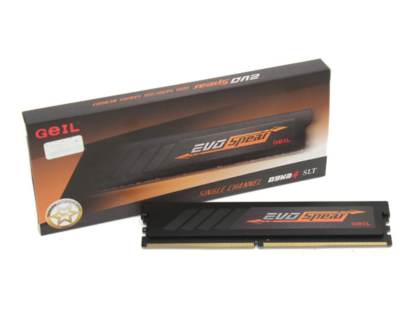 가격대 성능비 으뜸, GeIL DDR4 8GB PC4-24000 CL16 EVO SPEAR