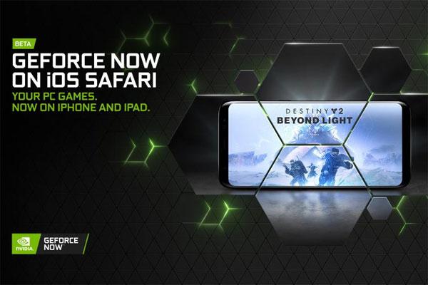 Nvidia, 이제 iOS Safari에서 스트리밍하는 GeForce 지원